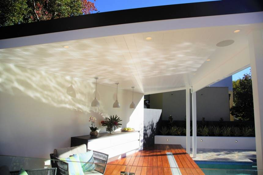 Skillion Roof Design Perth City Limits Landscapes